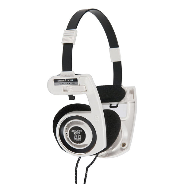 Koss Porta Pro On-Ear Stereo Headphones - White