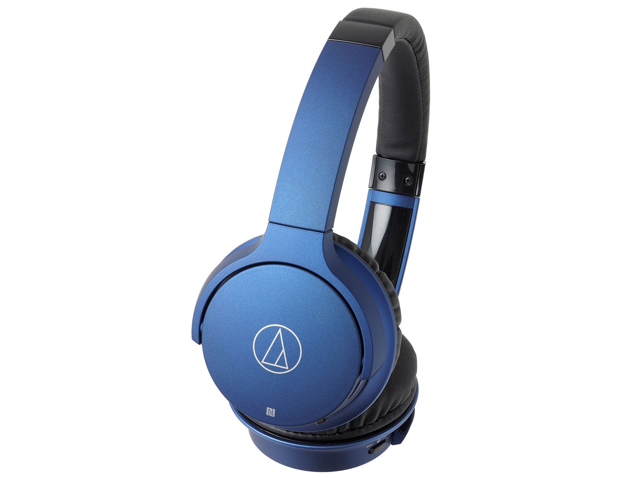 Audio-Technica ATH-AR3BT Bluetooth Stereo Headphones  (Blue)