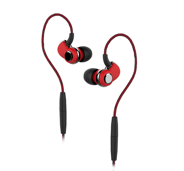 SoundMAGIC ST30 In-Ear Bluetooth Hybrid Headphones (Red)