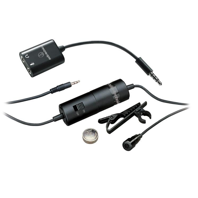 Audio-Technica ATR3350iS Microphone for Smartphones