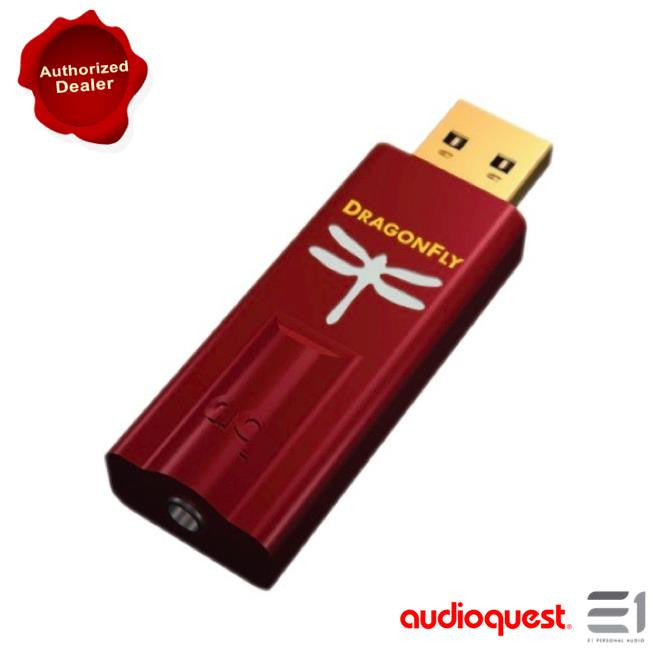 AudioQuest - DragonFly Red USB DAC/Headphone Amplifier