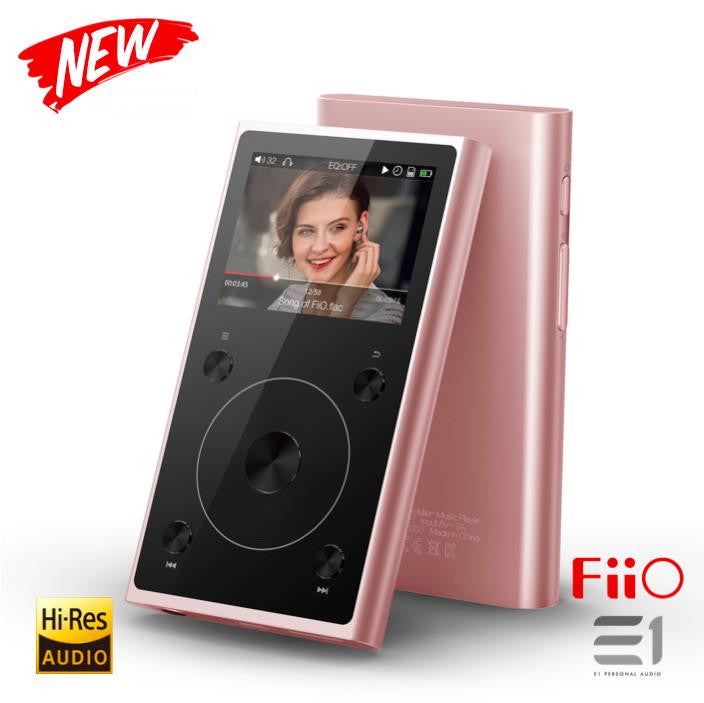 FiiO X1 2nd Gen Hi-Res Audio Player (Rose Gold)