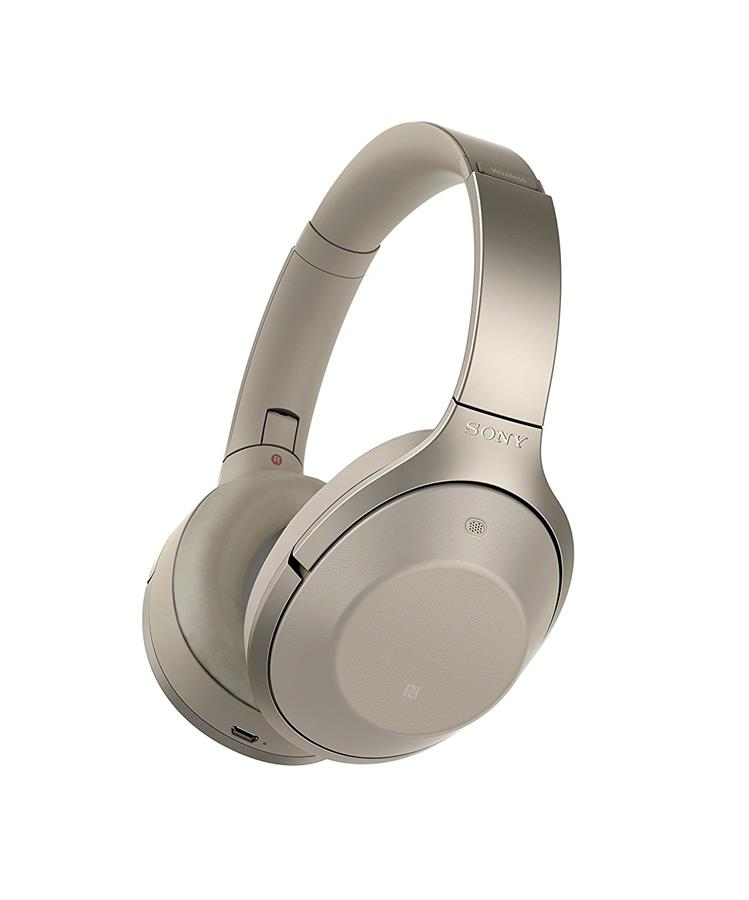 Sony MDR-1000X Noise Cancelling Bluetooth Headphones (Grey Beige)