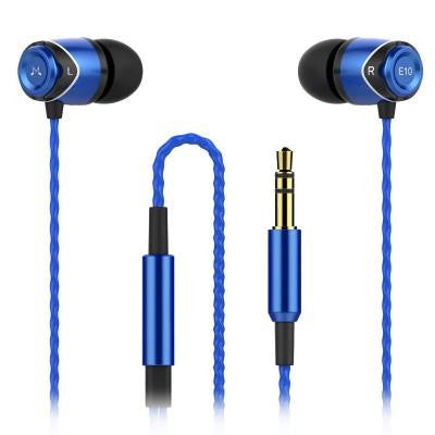 SoundMAGIC E10 In-Ear Monitor (Blue)