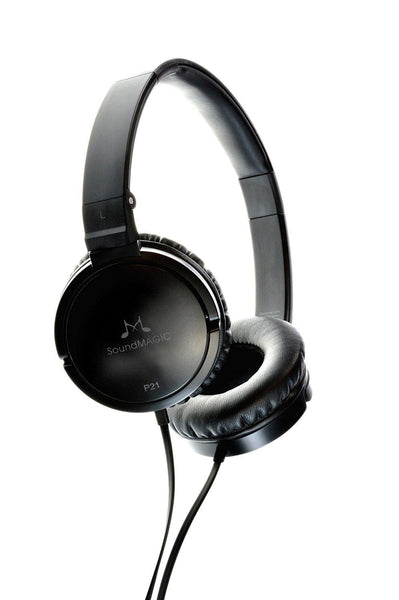 SoundMAGIC P21 On-Ear Headphones - Black/Grey