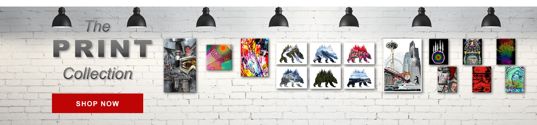 Original Art Prints from the Artists and Designers at SQUATCH Industries.    Photography, Water Color Prints, Digital Painting, Photo Composites, Graphic Arts