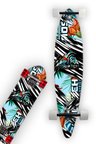 HAWAIIAN DREAM Skateboard / Longboard Wrap