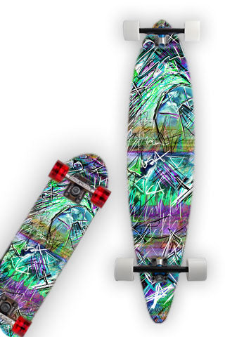 INDUCED STATE Skateboard / Longboard Wrap