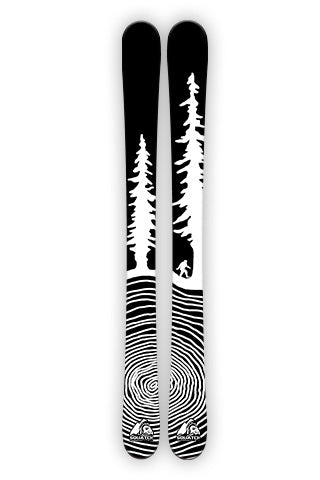 CROSS CUT BIGFOOT Ski Wraps