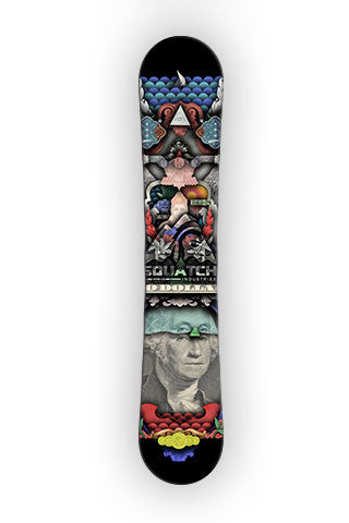 CURRENCY OF THE WORLD Snowboard Wrap