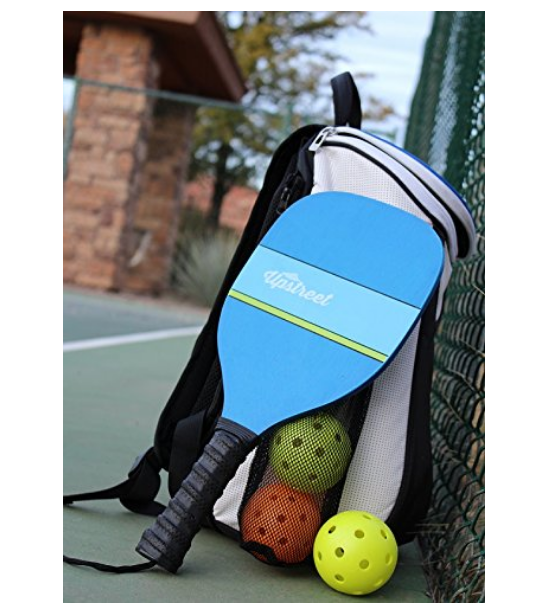 Wood Pickleball Paddle Set of 4 - Upstreet Pickleball Paddles