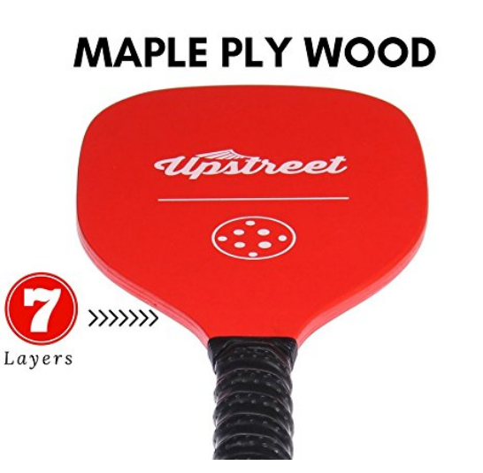 13 sets of Wood REDMAN Pickleball Paddles - Upstreet Pickleball Paddles