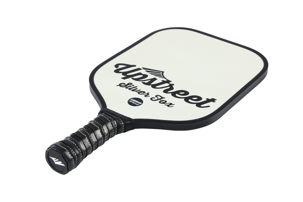 Graphite Pickleball Paddle (Silver Fox) - Upstreet Pickleball Paddles