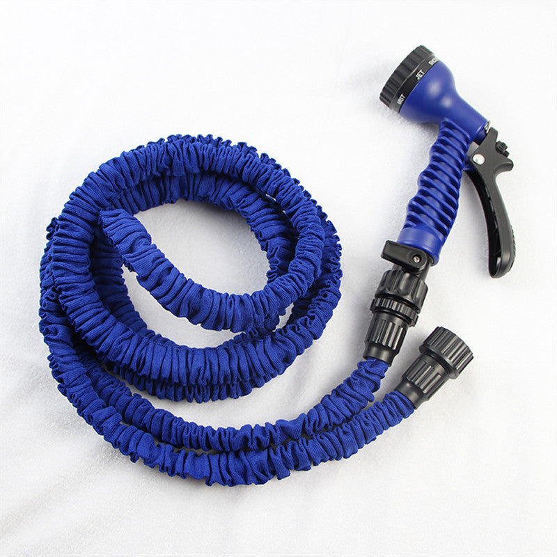 plastic magic hose drip irrigation hose for car wash dog washer water tube expandable garden water - Retractable Hose