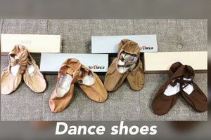 All dance shoes