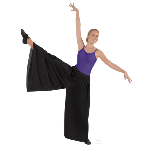 Black palazzo pant wide dance pants