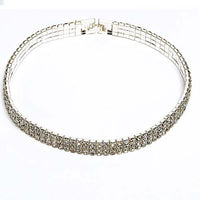 Stretch Rhinestone Choker