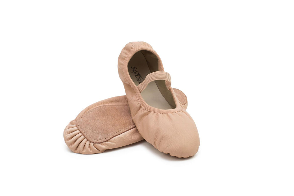 SoDanca Darcy Leather Ballet Shoe