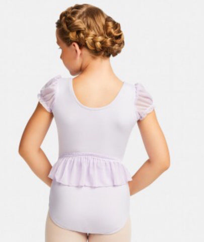 Ruffle Back Leotard