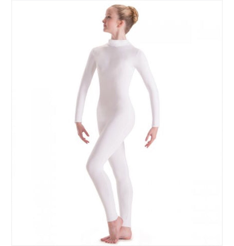 Long Sleeve Mock Neck Unitards Child's