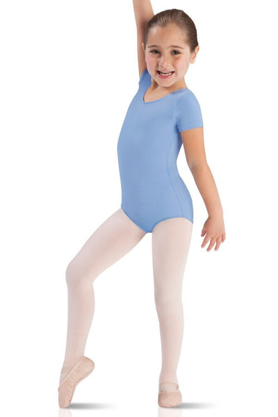 Core short sleeve leotard