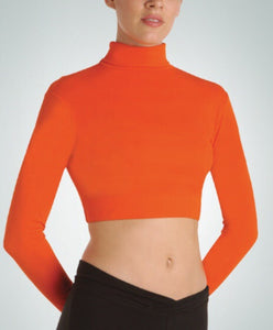 Long Sleeve Turtleneck Midriff Child's