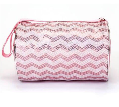 Chevron Sequins Duffle