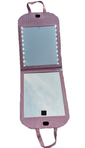 Glam'r FOLDING LED Mirror