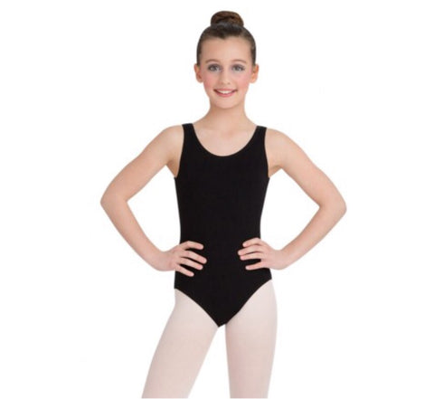 High-Neck Tank Leotard Child's