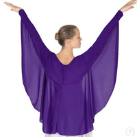 Angel Wing Praise Shrug