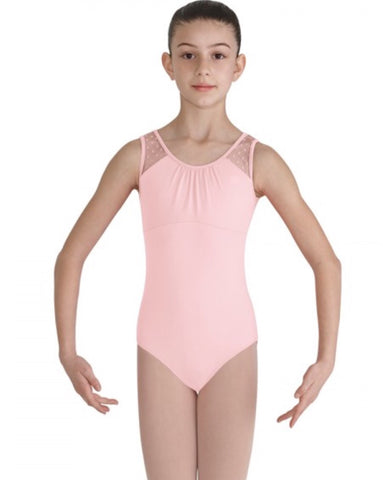 Heart Mesh Tank Leotard Child's