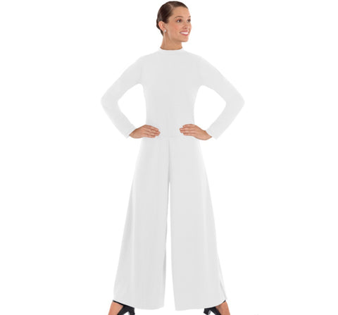 Women's Simplicity High Neck Jumpsuit