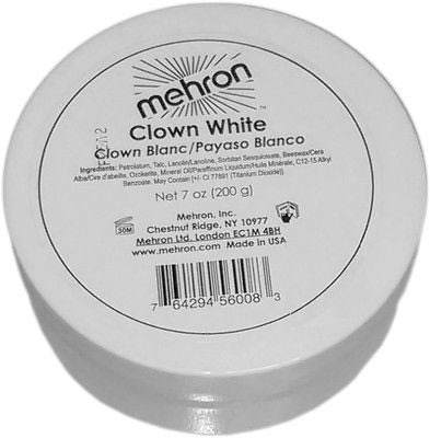 Clown White Mime Makeup