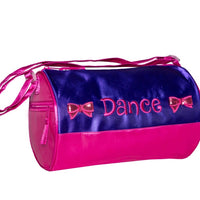 Purple Bows Duffel
