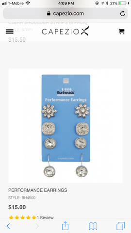 Performance Earrings