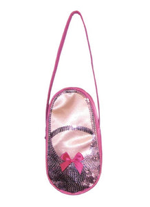 Satin & Sequins Ballet Shoes Tote
