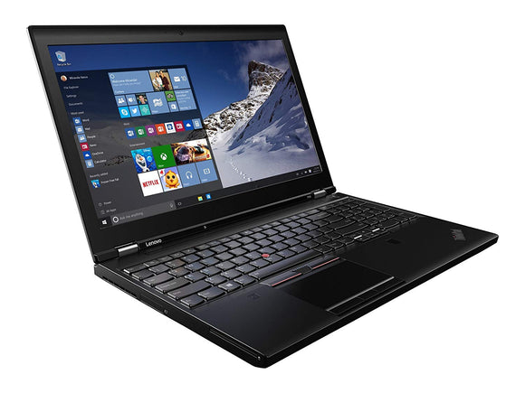 Lenovo P50 Notebook PC Core i7 6820HQ 16GB RAM 512GB SSD W10Pro 15.6""