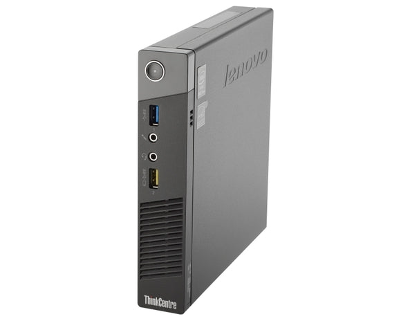 Lenovo ThinkCentre M93P Tiny PC Core i5-4570 @2.9GHz - 8GB Ram 128GB SSD W10
