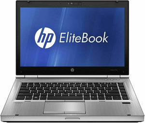 HP Elitebook 8470p – Intel Core i5 3320m – 8GB RAM- 128GB SSD W10P 14""