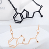 Image of DMT Chemical Molecule Structure Necklace - Peak Instinct - sacred geometry jewelry