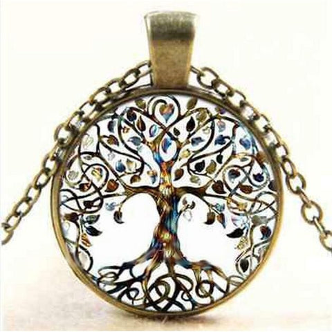 Let it Bloom Tree of Life Necklace - Peak Instinct - sacred geometry jewelry