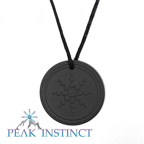 Flower of Life Quantum Science Scalar Energy Pendant, 2000 ~ 3000 ions emitted - Peak Instinct - sacred geometry jewelry
