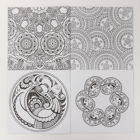 Mandala Coloring Book, Stress Reliever