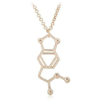 "MDMA ""Molly"" Chemical Structure Necklace"