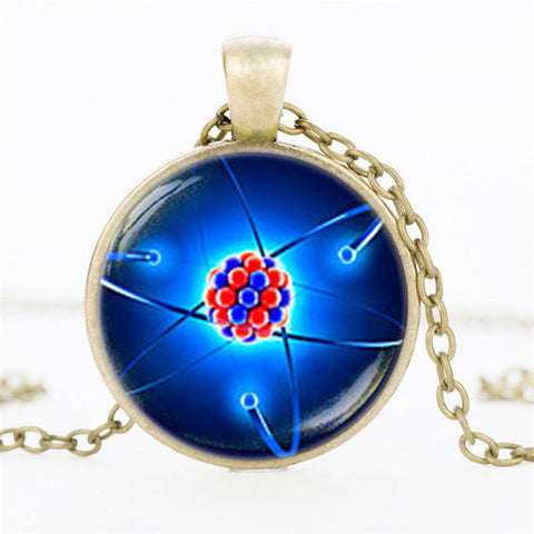 Atom Molecule Necklace