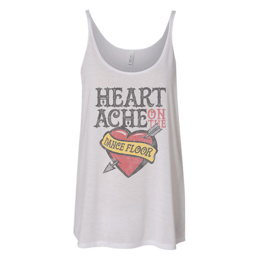 Heartache Tank – White