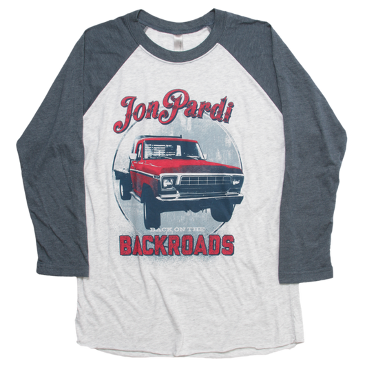 Backroads Baseball Tee