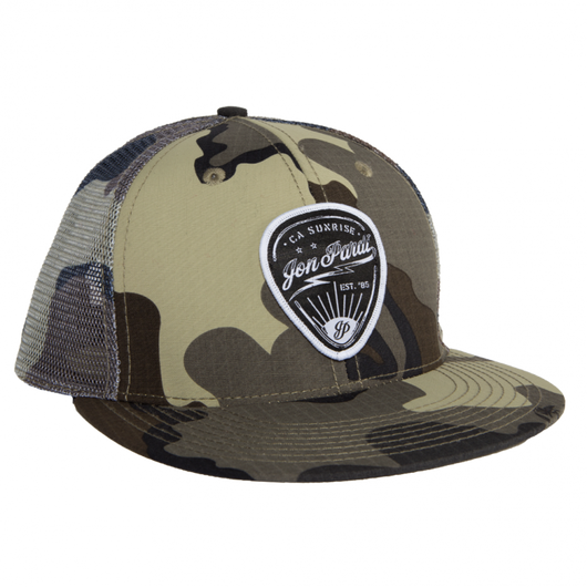 Guitar Pick Camo Trucker Hat