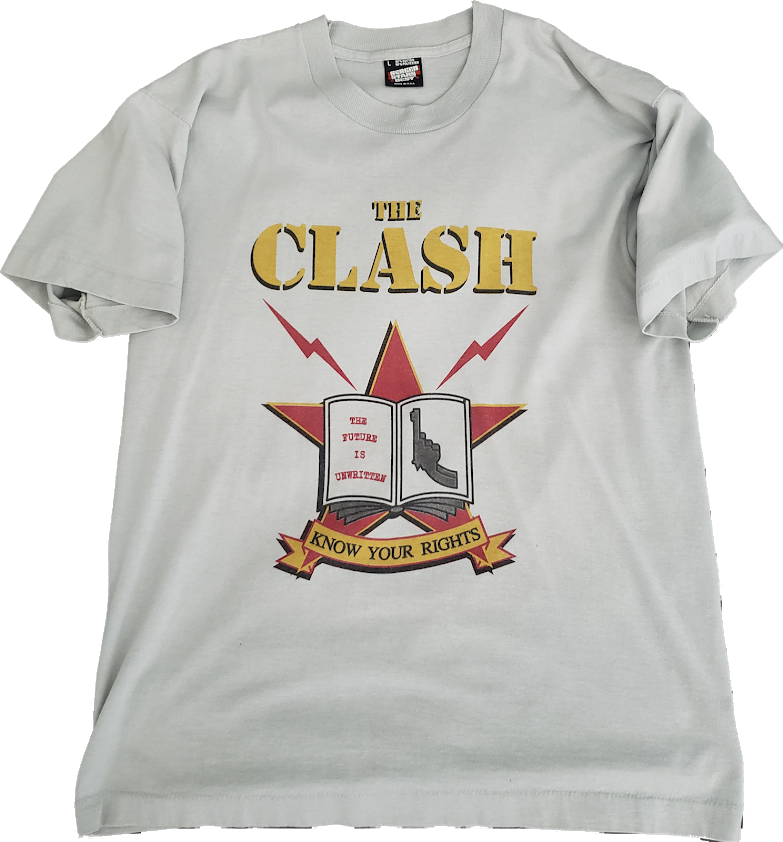The Clash Know Your Rights Tee