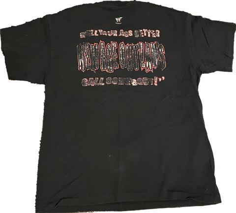 Vintage New Age Outlaws WWF Tee